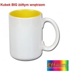 Kubek FOTO BIG z żółtym wnętrzem
