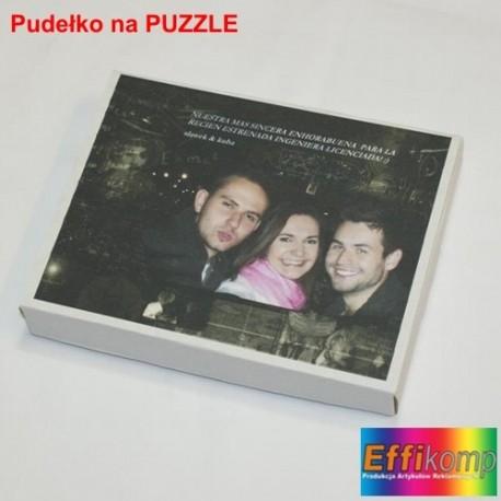 Foto pudełko na puzzle