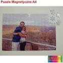 Super Foto puzzle MAGNETYCZNE ze zdjęciem A4 - 120 elementów
