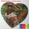 Super prezent Foto puzzle ze zdjęciem w kształcie serca