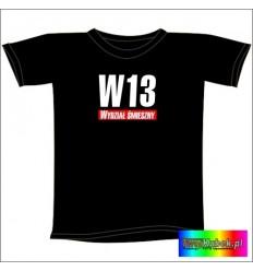 Śmieszna koszulka W13 Wydział Śmieszny