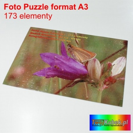 Super prezent Foto puzzle ze zdjęciem A3 - 192 elementy