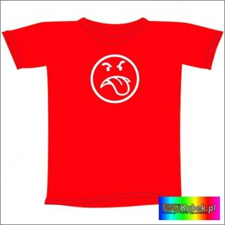 Śmieszna koszulka MAM ZŁY DZIEŃ