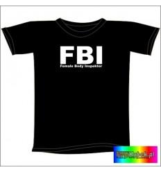 Śmieszna koszulka FBI