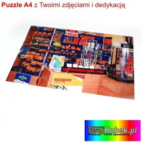 Super prezent Foto puzzle ze zdjęciem A4 - 96 elementów