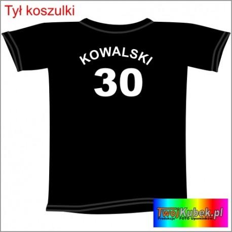 Śmieszna koszulka z nazwiskiem na 30 URODZINY