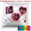 Satynowa FOTO poduszka ze zdjęciem