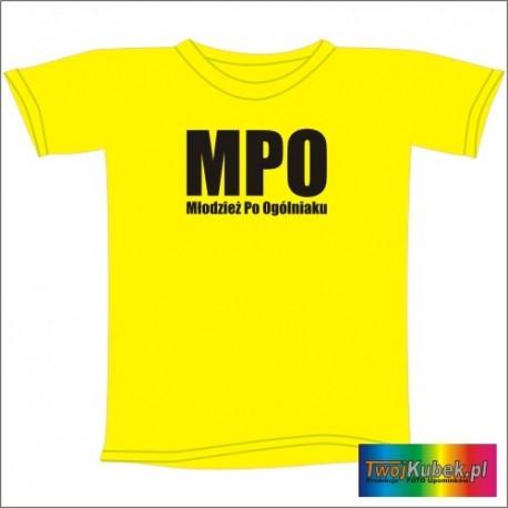 Śmieszna koszulka MPO