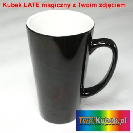 Kubek MAGICZNY LATTE 450 ml z Twoim zdjęciem i dedykacją