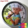 Zegar ścienny z dowolnym zdjęciem na prezent - duży