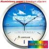 Aluminiowy zegar ścienny z dowolnym zdjęciem na prezent