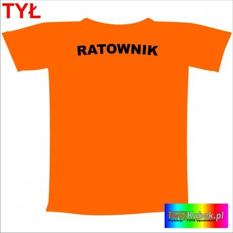 Śmieszna koszulka RATOWNIK